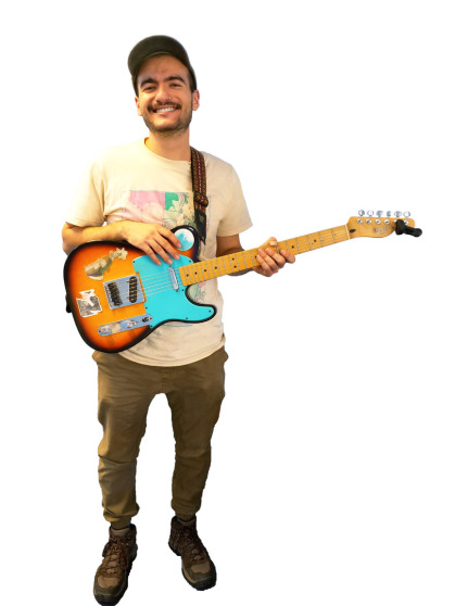 Guitar Teacher in Eugene, Oregon - Sam Mendoza